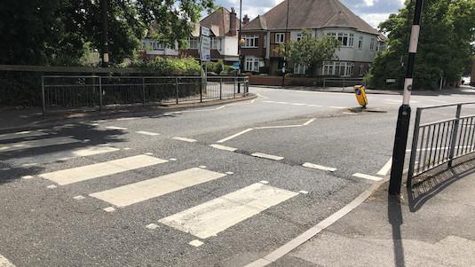 Improve Hill Lane/Burgess Road Junction