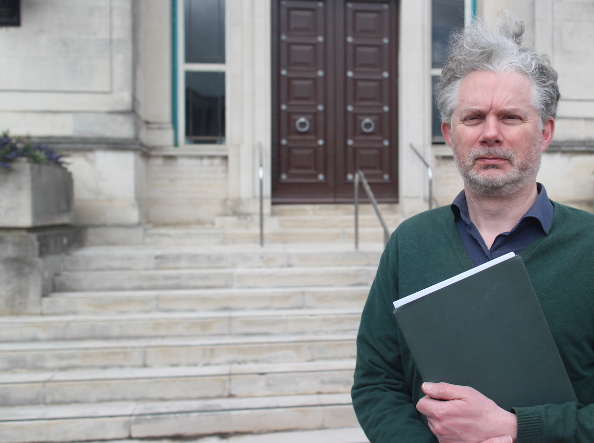 Petition letters submitted to Council leader