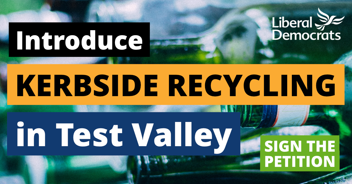 Introduce Kerbside Recycling in Test Valley