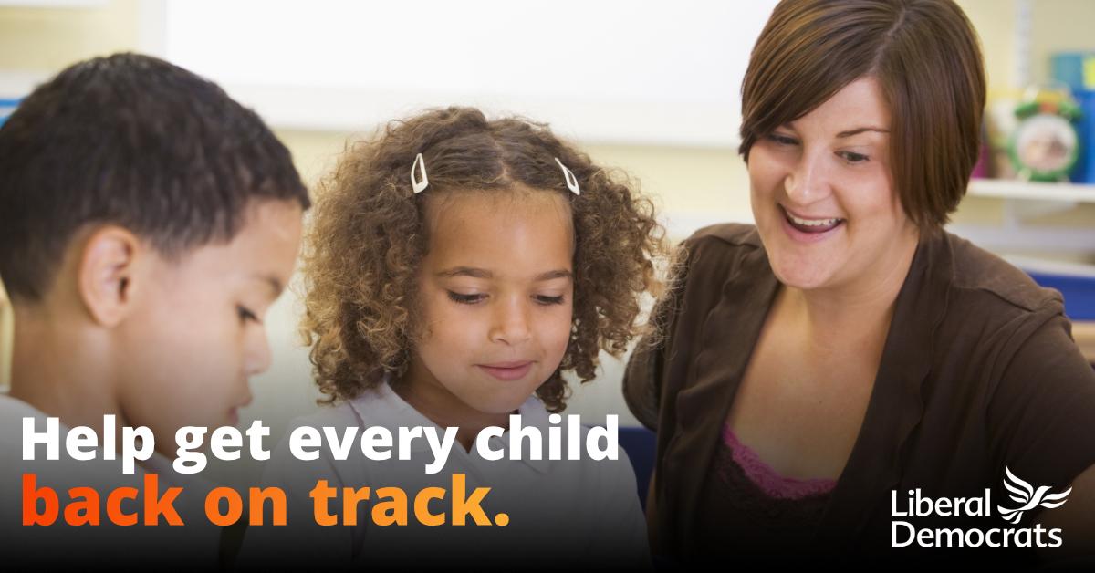 12,000 children in Romsey & Southampton North would benefit under Lib Dem Catch-Up Voucher plan