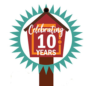 Little Free Library 10 year anniversary