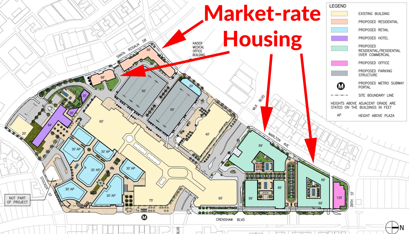 Crenshaw Mall Market Rate Housing