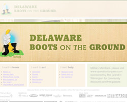 Delaware Boots On The Ground