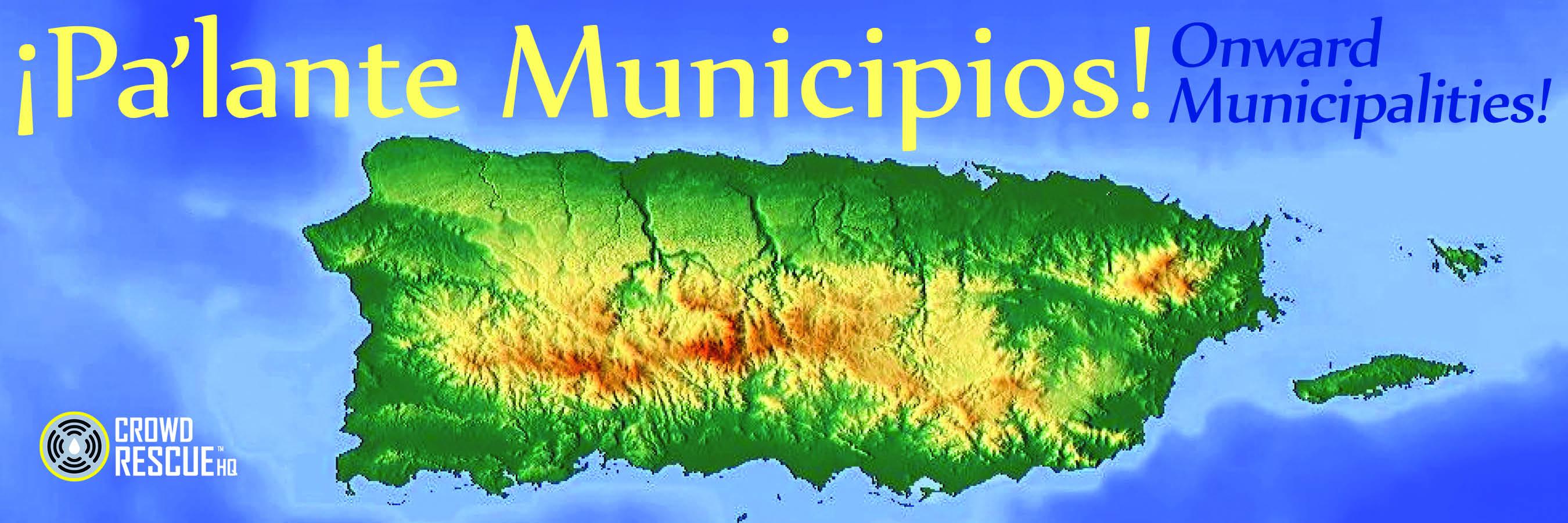 Pa lante Muni Header (Puerto Rico map