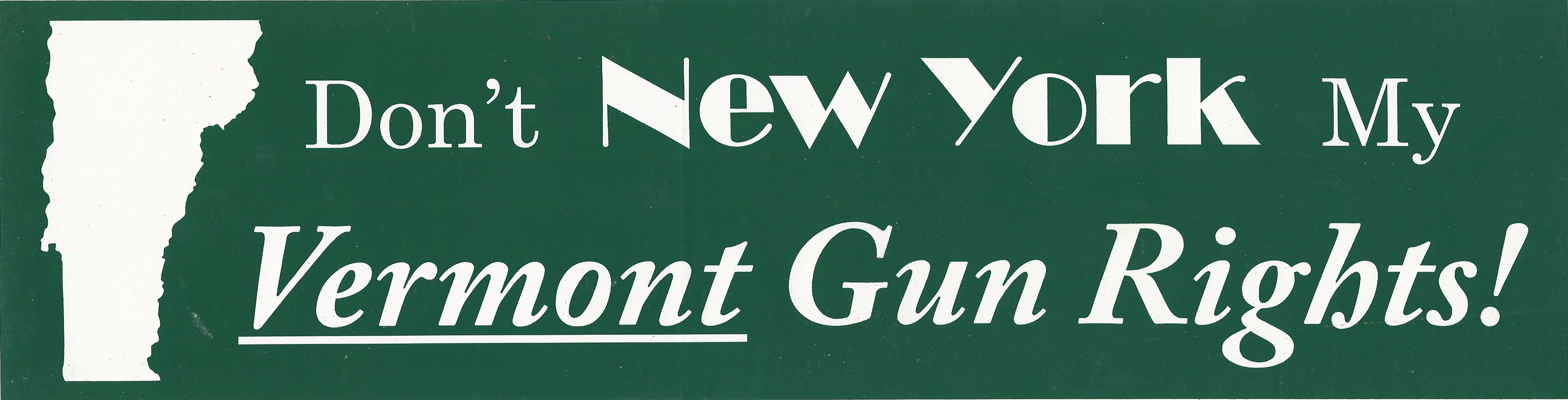 Don't NY My VT Rights!