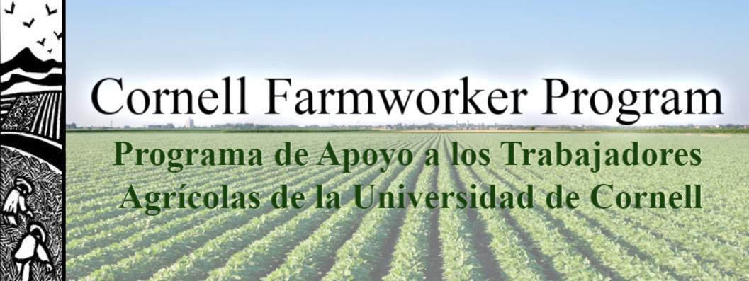 Programa de Apoyo a los Trabajadores Agrícolas de la Universidad de Cornell