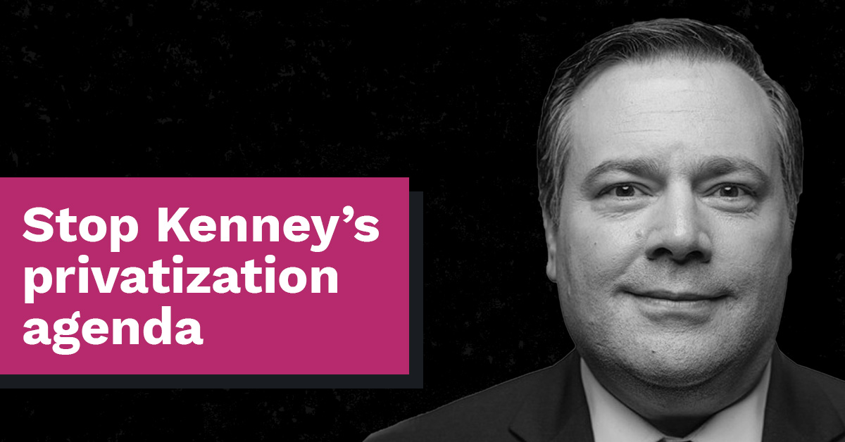 We don't want your private healthcare, Jason Kenney!  thumbnail