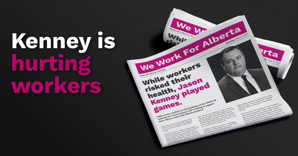 Alberta's Critical Worker Benefit is a mess because of Jason Kenney  thumbnail