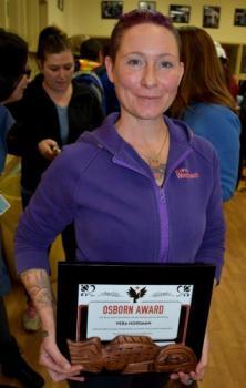 CUPE 1004 award winner Vera Horsman
