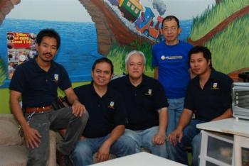 CUPE 116 members in UBC Housing: Lamberto Millanes, Jose Abad, Eduardo Sio, Joel Dy, and Jeffrey Estrella.