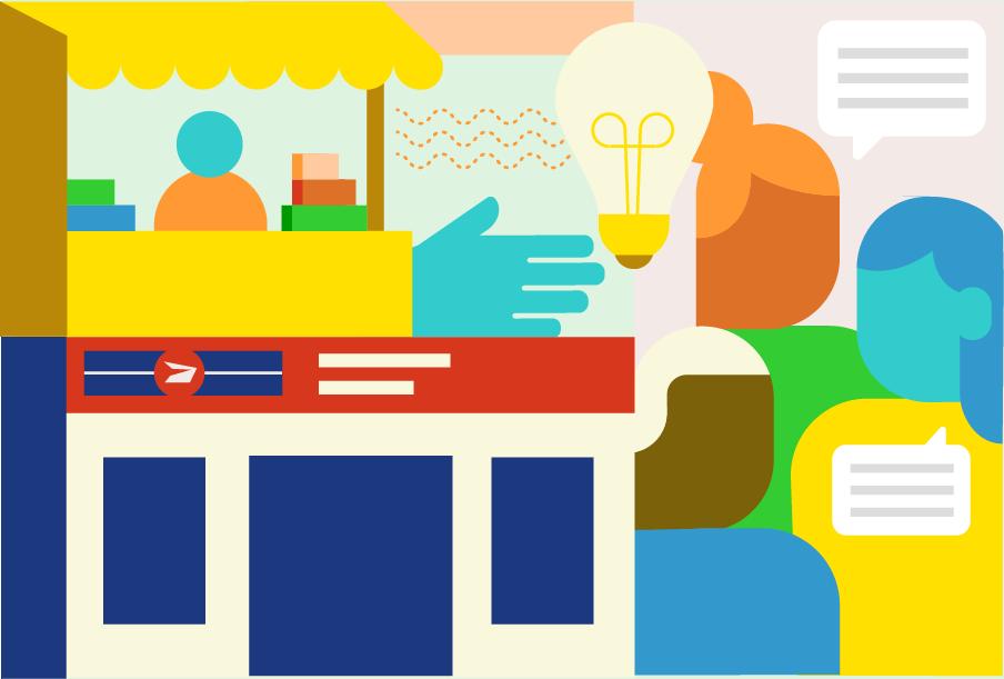 Illustration : Carrefours communautaires