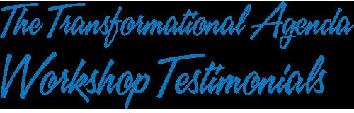 workshop testimonials