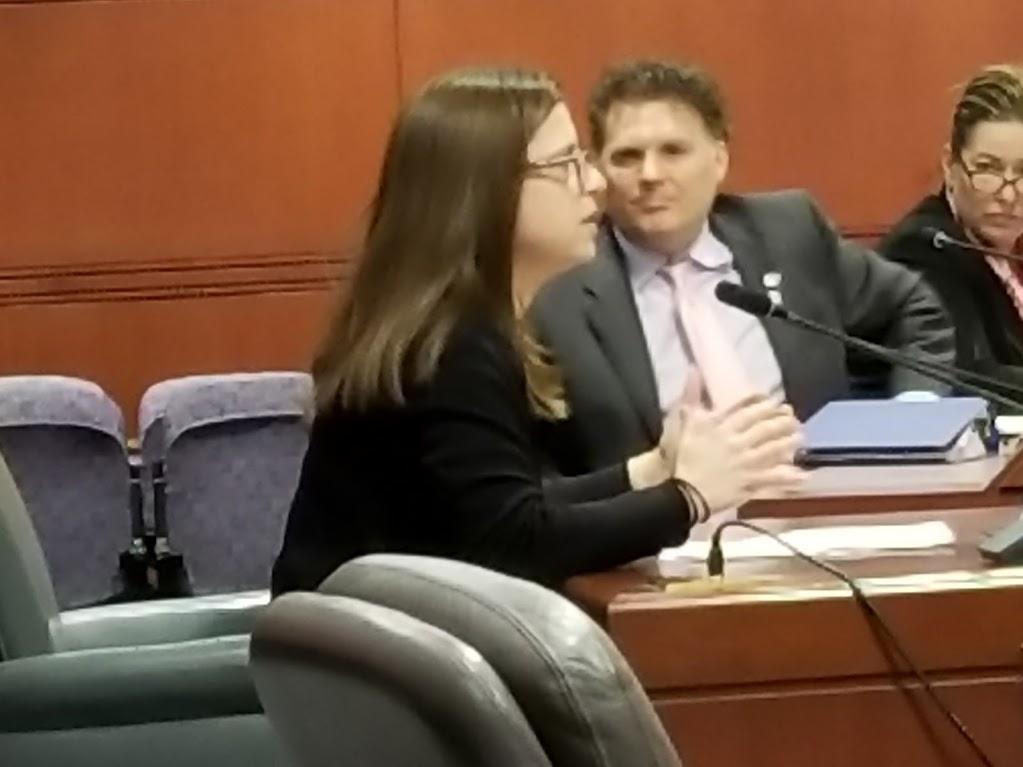 Susan Linker Testifying before Environment Committee