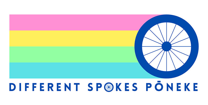Different Spokes logo.