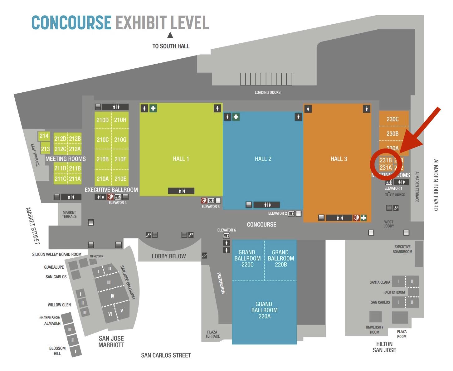 SJCC Map Room 231