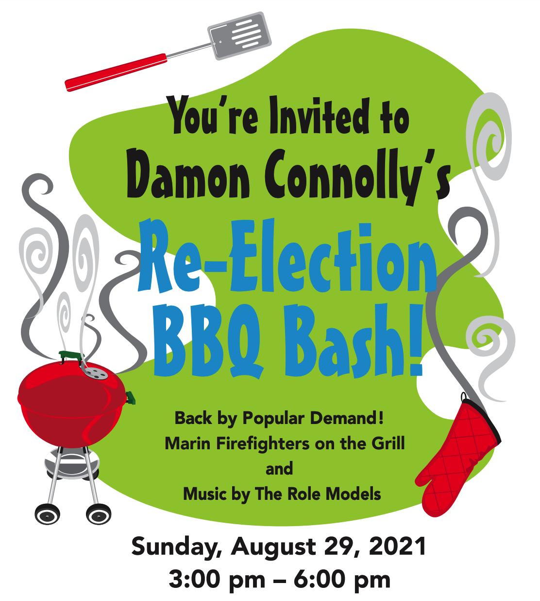 Damon Connolly's BBQ Bash