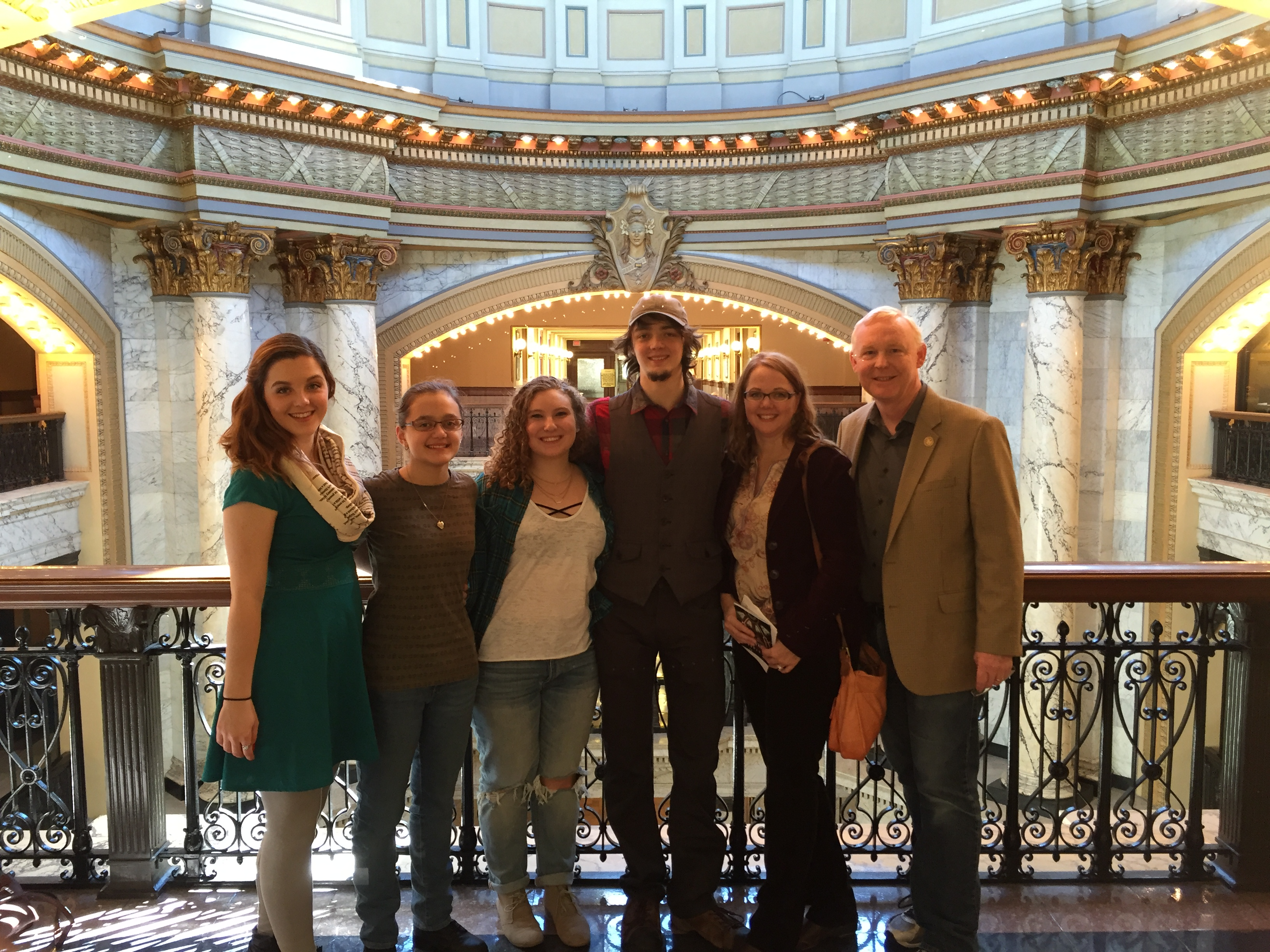 Family at Capitol
