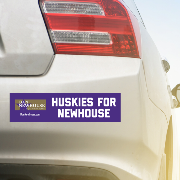 Huskies_for_Newhouse_Bumper_Sticker_on_Car.png