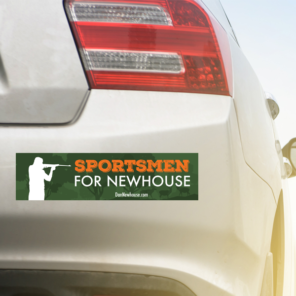 Sportsmen_for_Newhouse_Bumper_Sticker_on_Car.png
