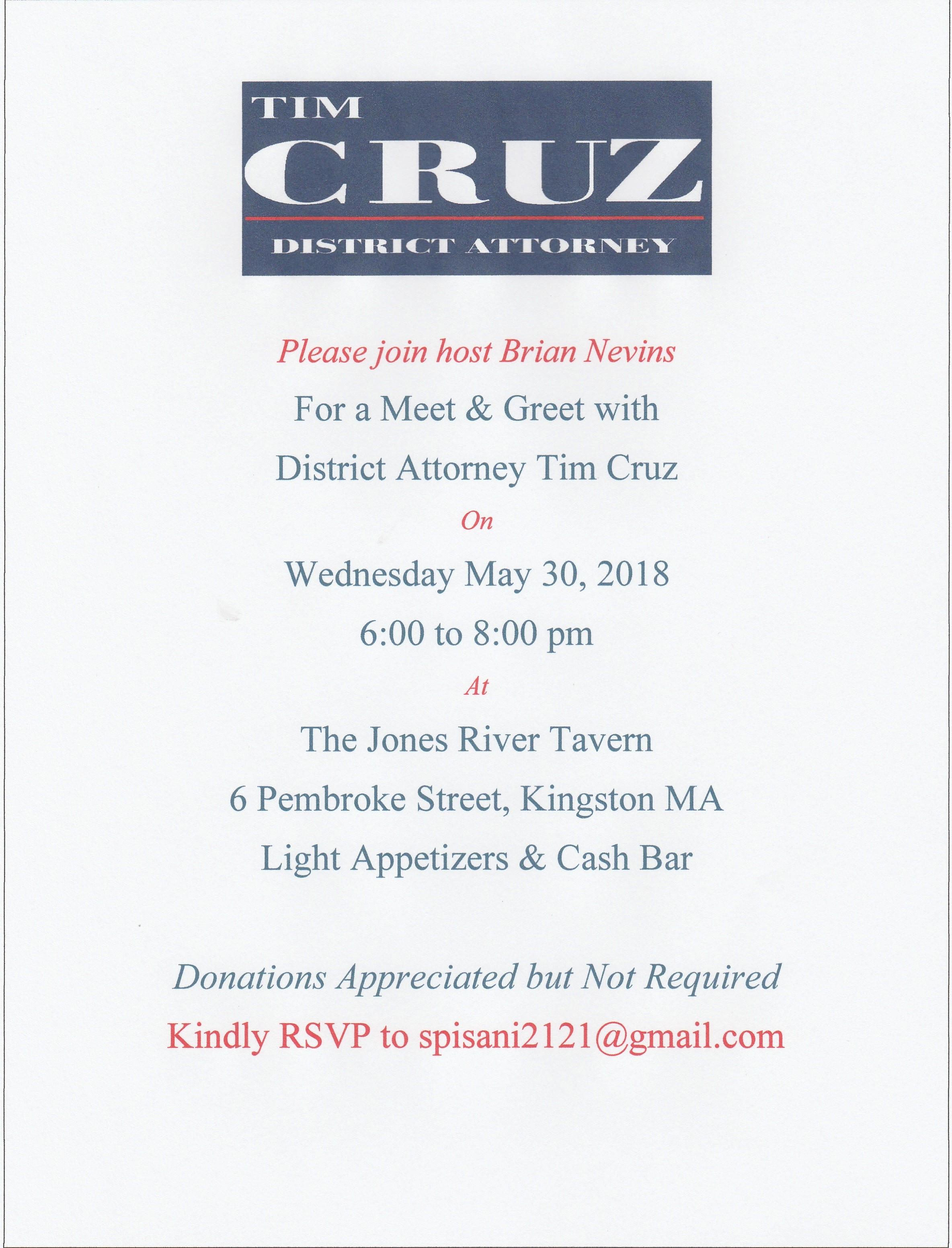 Meet and Greet Invite