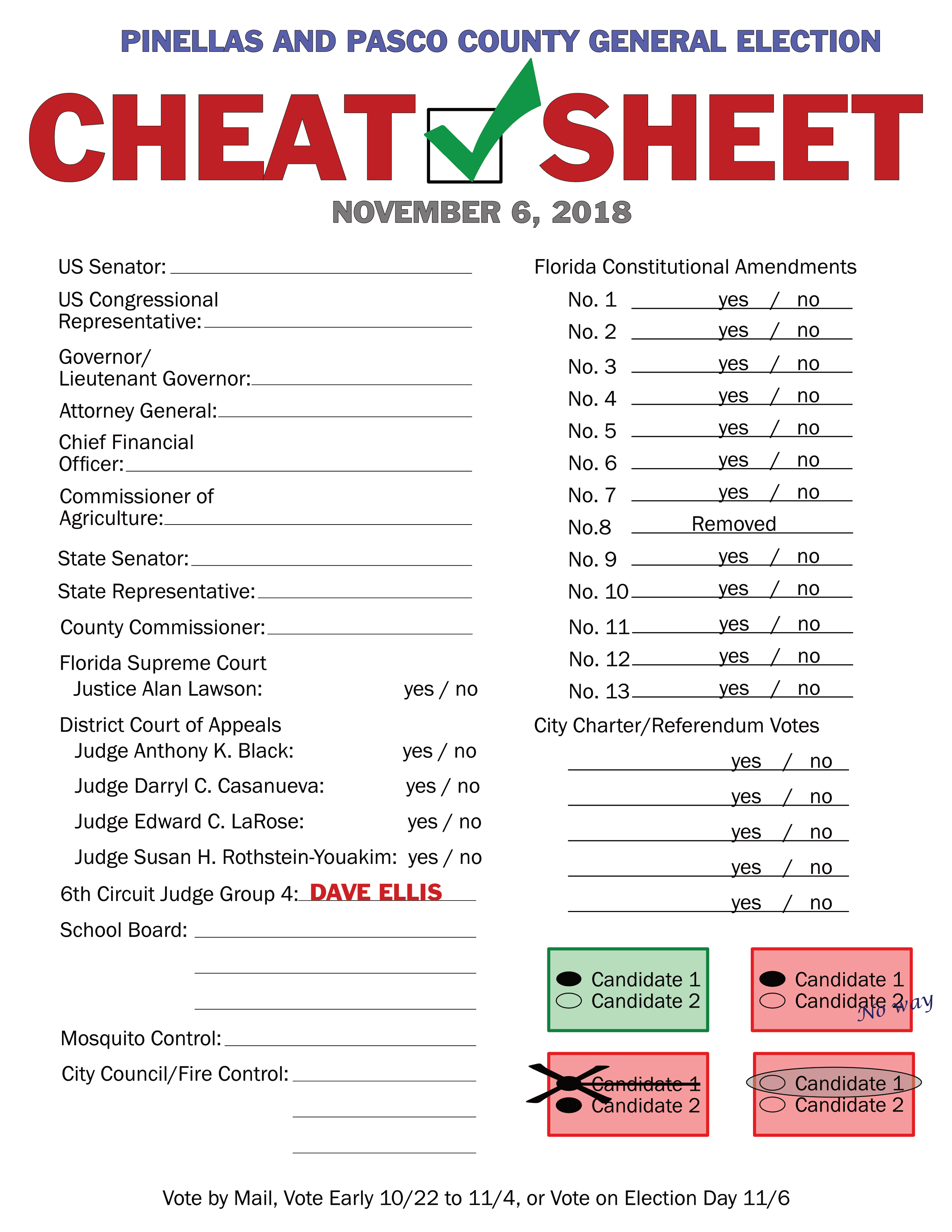 election cheat sheet committee to elect dave ellis