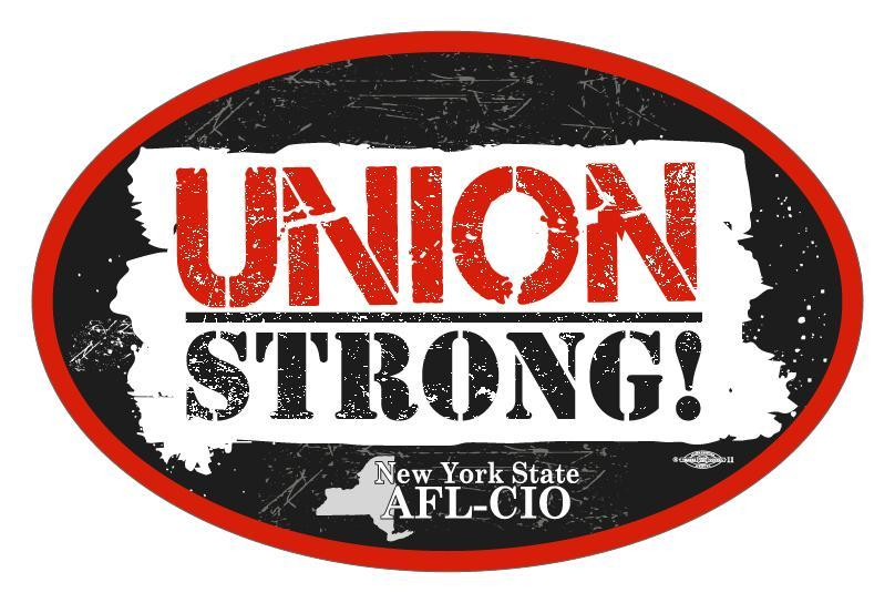 The Union Strong logo of the AFL-CIO