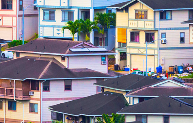 Colorful houses image