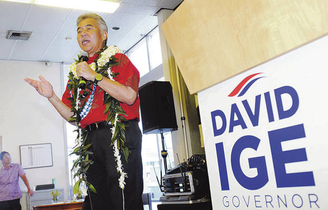 Ige opens campaign offices