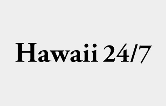 Hawaii 24/7 LOGO