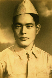 David's father, Tokio Ige