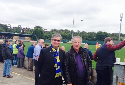 David Mowat at Warrington Town FC