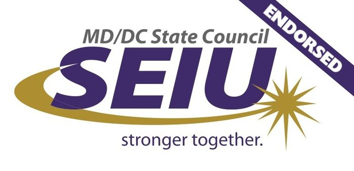 MD/DC State Council SEIU Endorsed