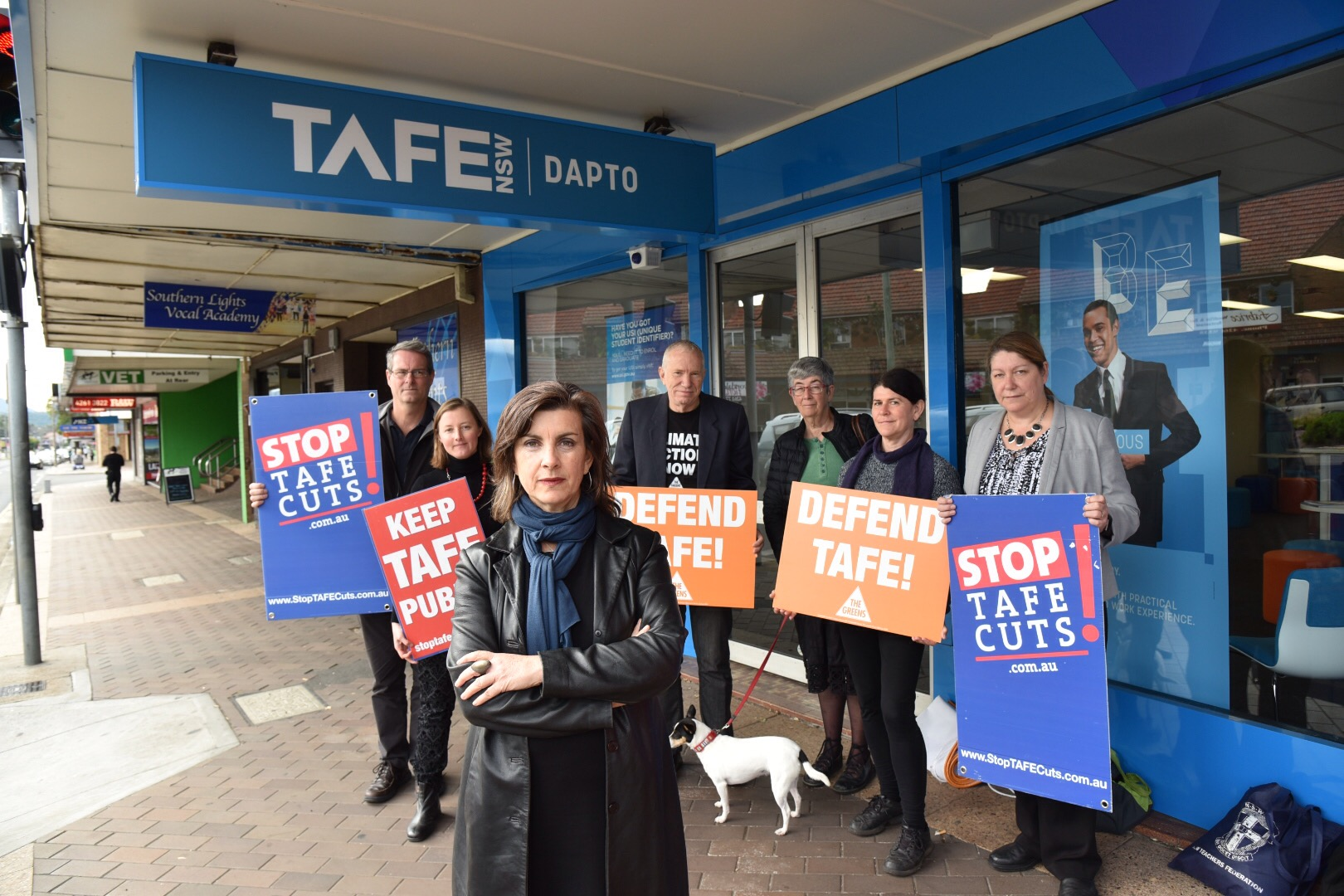 Minister admits under questioning that Dapto TAFE facilities are