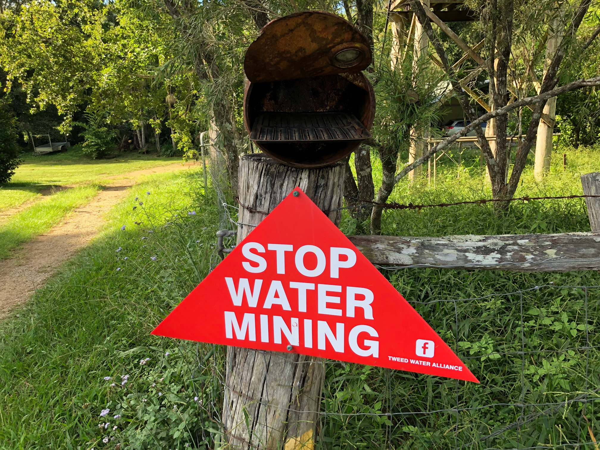 Greens call for halt to water mining in Tweed Valley - Dawn Walker MP