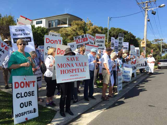 Closure of Mona Vale Hospital services marks sad day for Northern Beaches Community - Dawn Walker MP