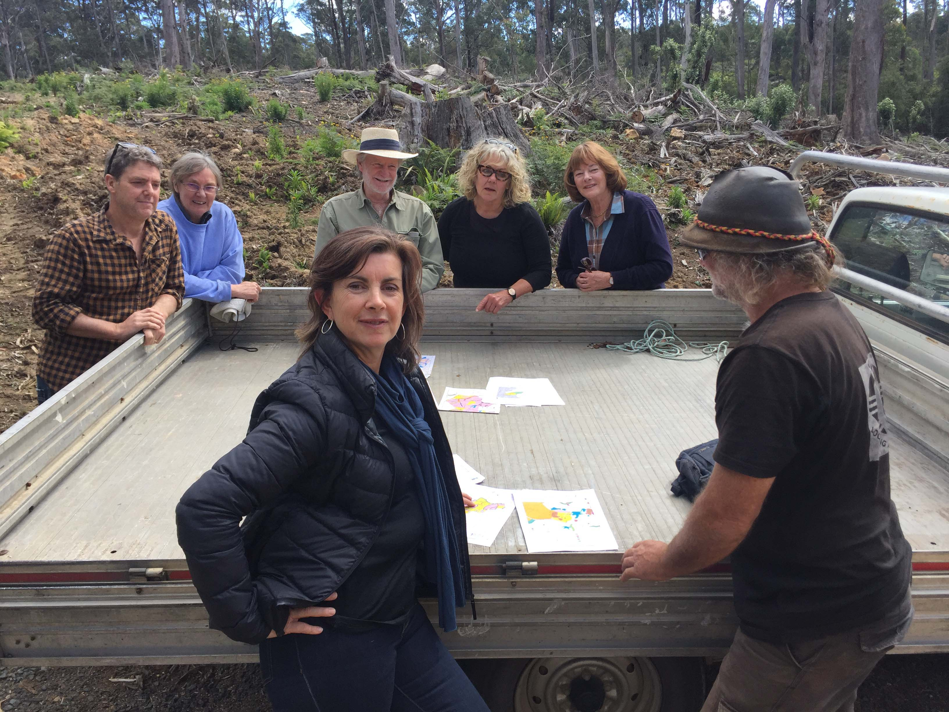 Greens MP visits Far South Coast to call for an end to Native Forest Logging - Dawn Walker MP
