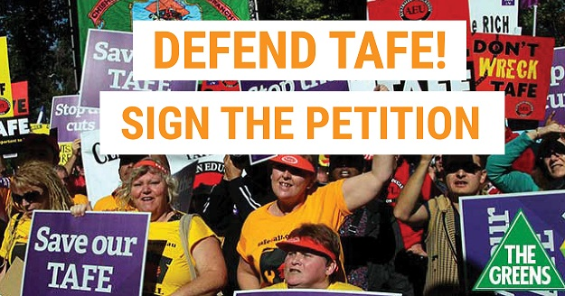 Defend TAFE! - Dawn Walker MP