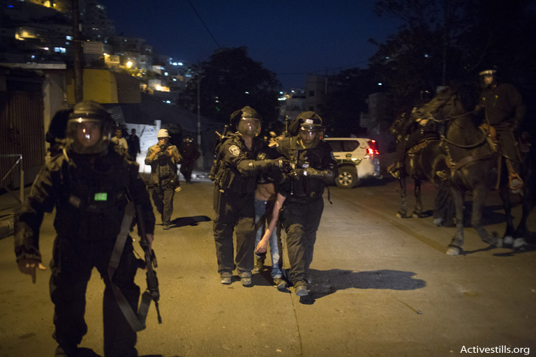 Rising physical violence against Palestinian child detainees