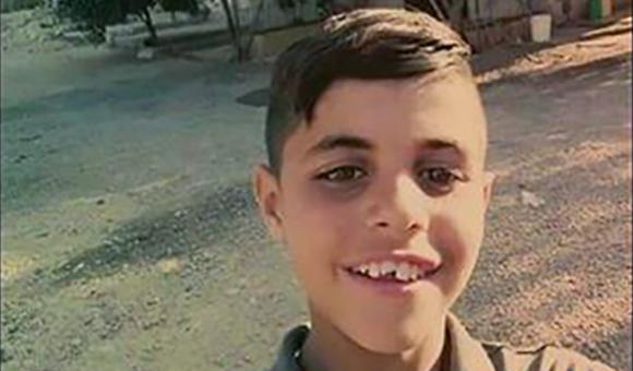 Muhyee Tabakhi, 10, killed by sponge-tipped bullet