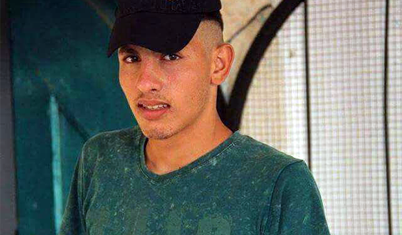 Ahmad Zeidani, 17, was shot dead by Israeli forces on December 18. (Photo: Zeidani family)