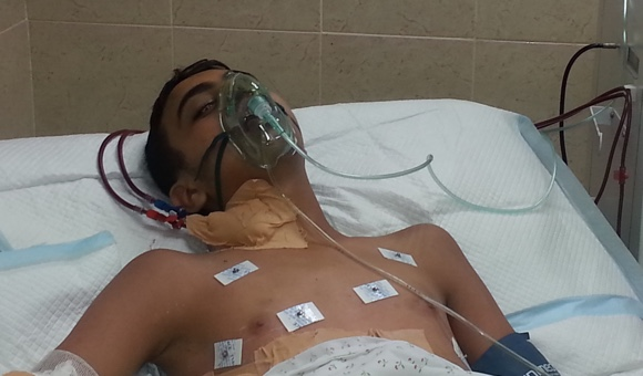 Injured Gazan teen denied exit permit for medical treatment