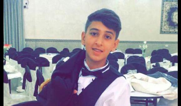 Sponge-tipped bullet fired by Israeli forces blinds boy in left eye