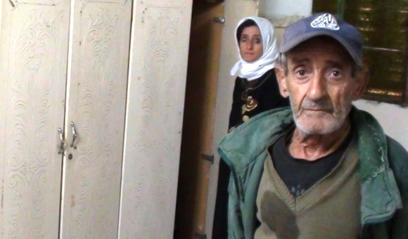An Israeli interrogator threatened Thabet with killing his mother, Amira, and father, Abed.