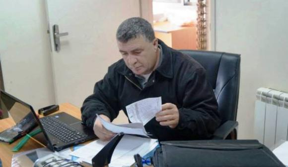 Hashem Abu Maria, 45, considered defending children's rights as his purpose in life, not simply as a job.