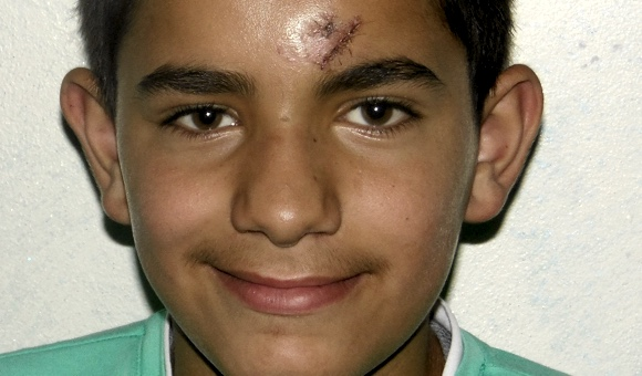Palestinian children bystanders faced brunt of July escalations