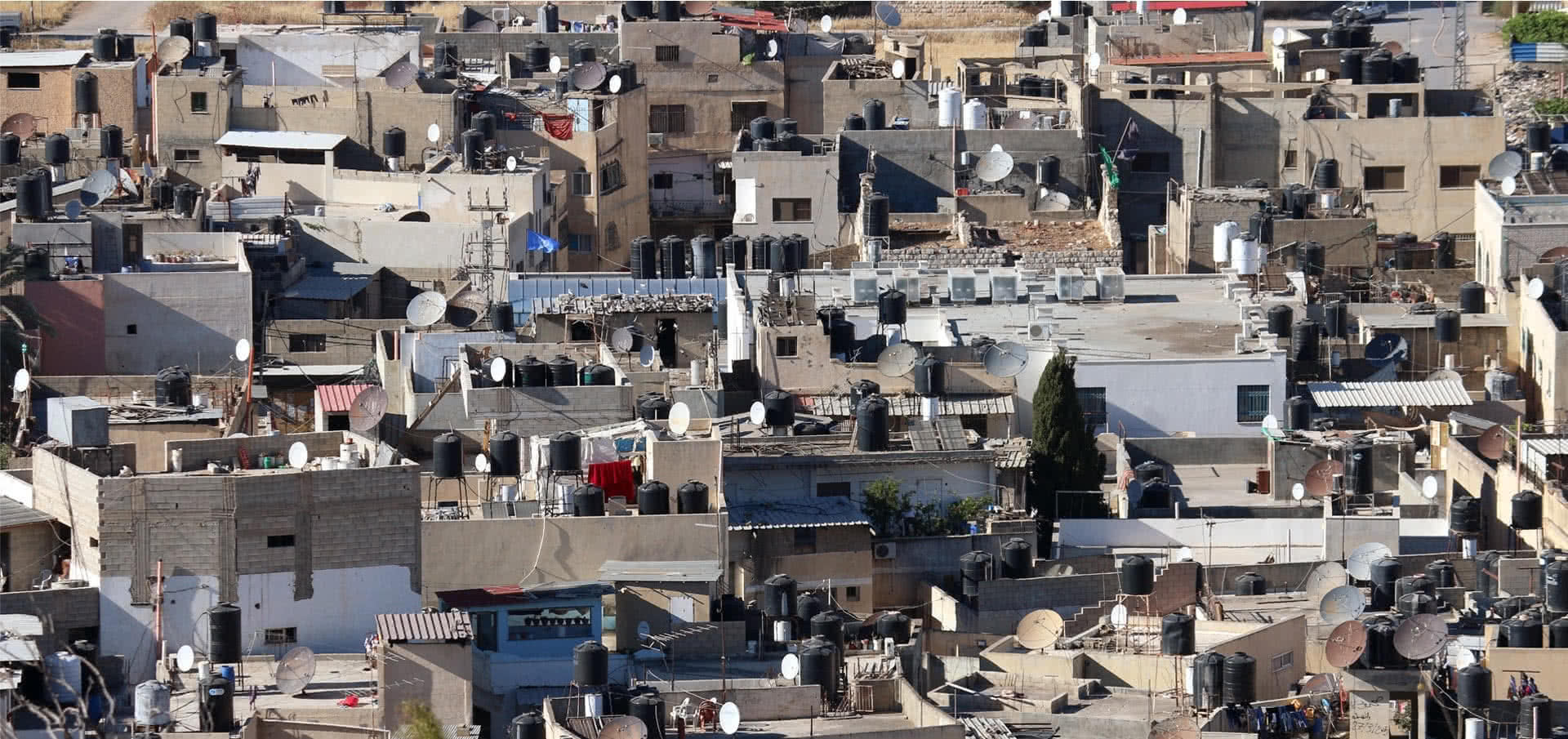Established with 50 shelter units, the number of housing units in Jenin refugee camp grew to 1,280 by 2007, according to UNRWA. (Photo: DCIP / Ahmad Al-Bazz)