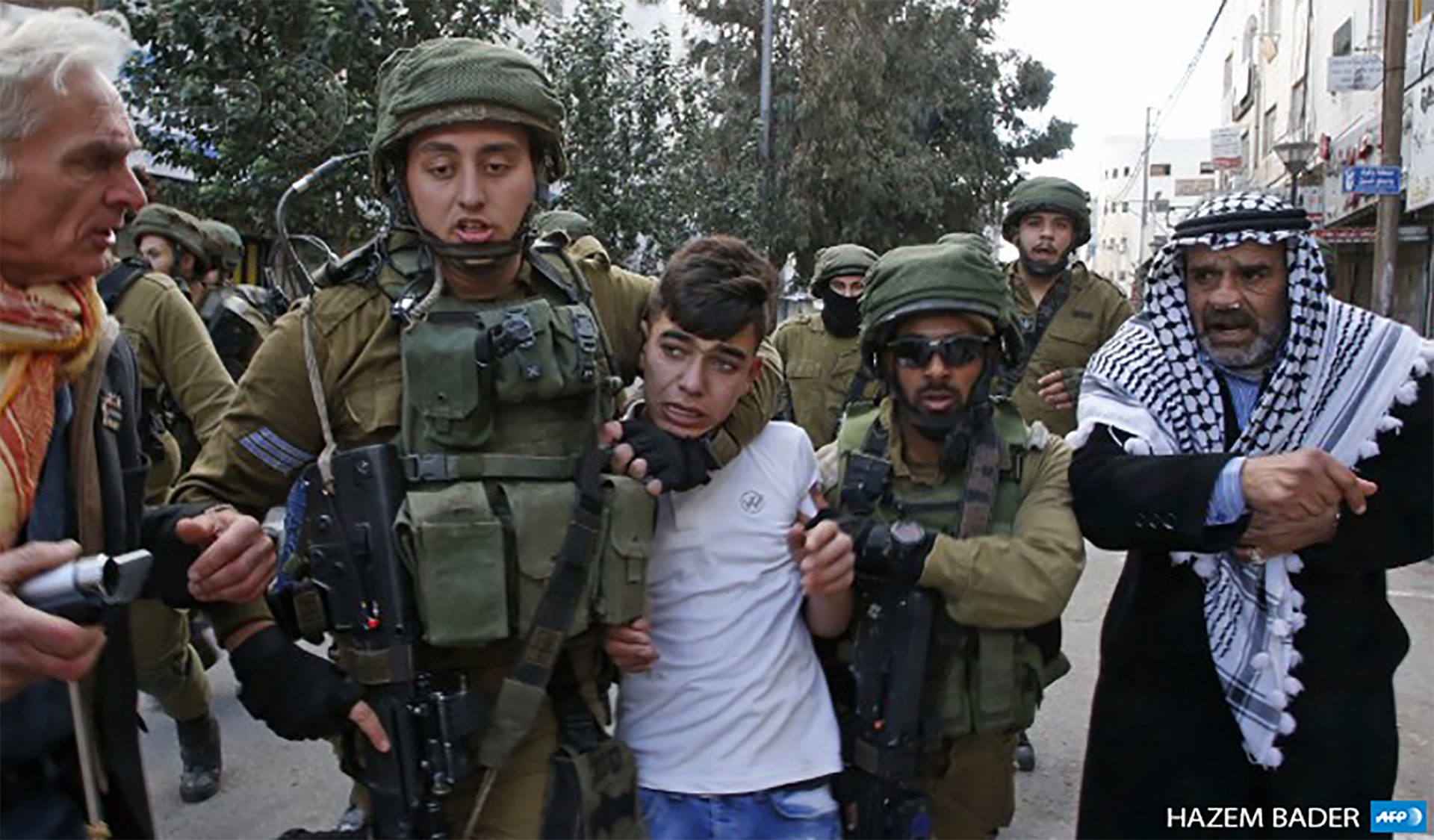 Violations against Palestinian children spike amid protests over U.S. Jerusalem move