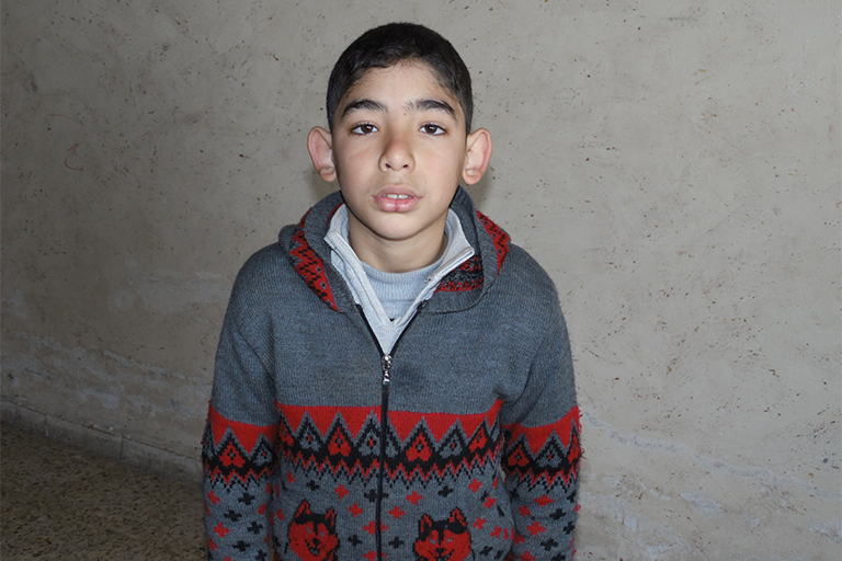 Israel has denied permits for Nabhan al-Masri, 10, to travel to Jerusalem for medical treatment over the past year. (Photo: DCIP / Mohammad Abu Rukbeh)