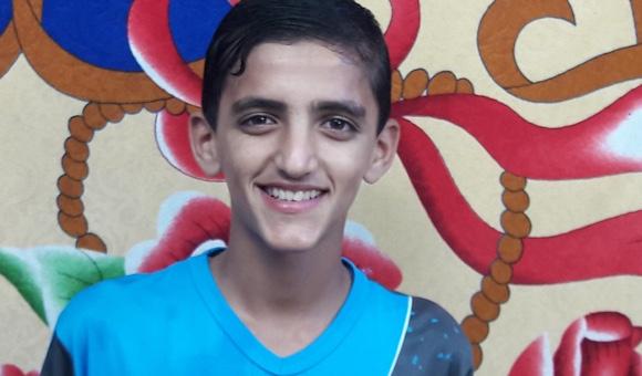 Israeli forces shot dead Aladdin Zamili, 16, on April 6, 2017. (Photo: Courtesy of the Zamili family)