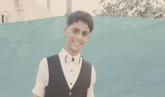 Israeli forces shot Talal Matar in the head on May 14 in the central Gaza Strip. (Photo: Courtesy of the Matar family)